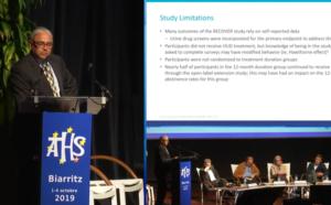ATHS 2019 - PLÉNIÈRE #5 (Mer 2/10 à 14h30) : où en sont les traitements addictolytiques ? FRANÇAIS.